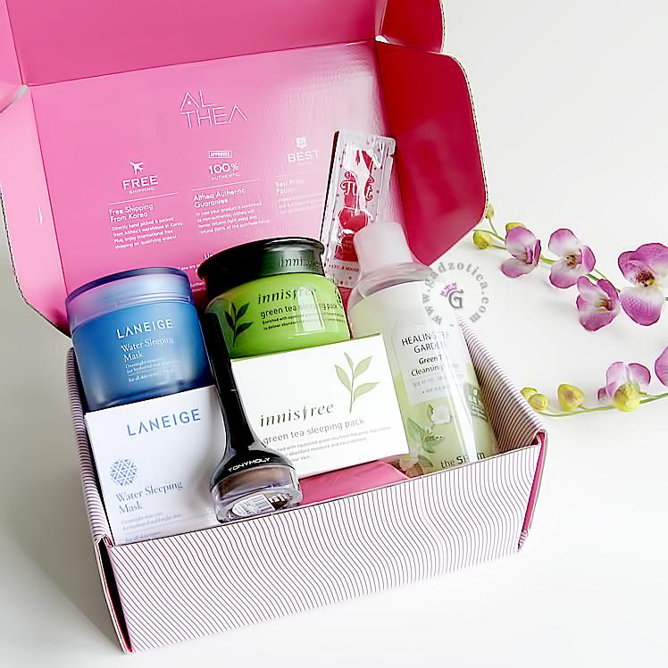 Althea Korea Pink Box