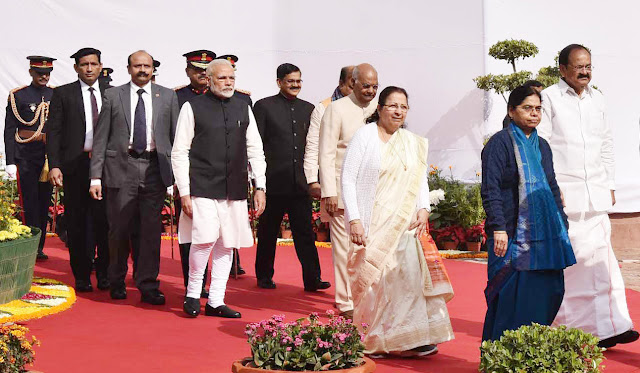 India's President Ram Nath Kovind's address to Parliament