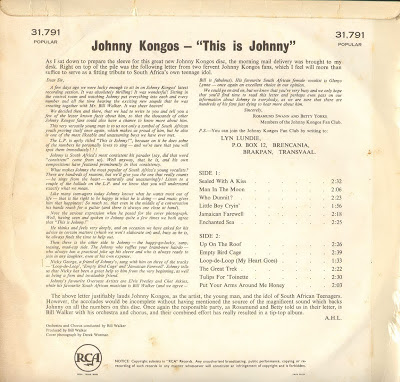 Johnny Kongos - This Is Johnny
