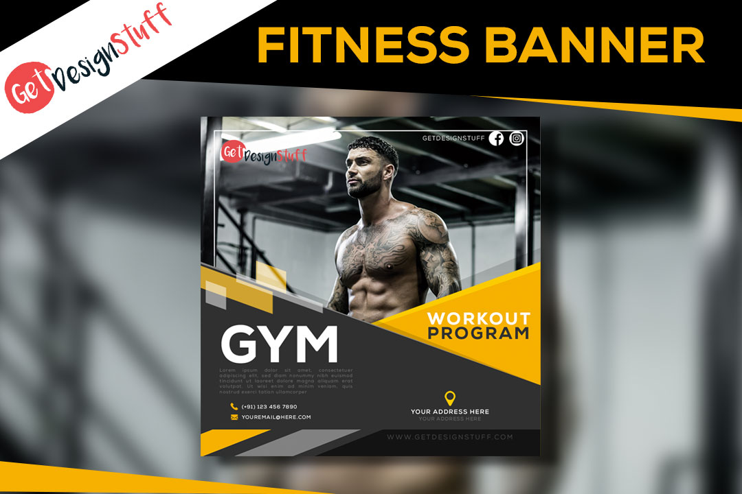 Download Fitness Square Banner