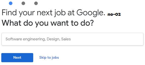 goole jobs apply