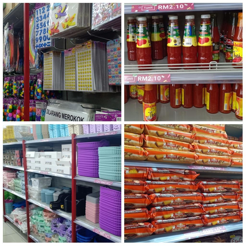Shopping di Eco Shop Kedai RM2.10. Apa yang menarik di Eco Shop?