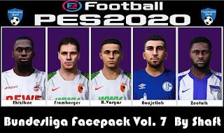 Images - PES 2020 Bundesliga Facepack Vol 7 by Shaft