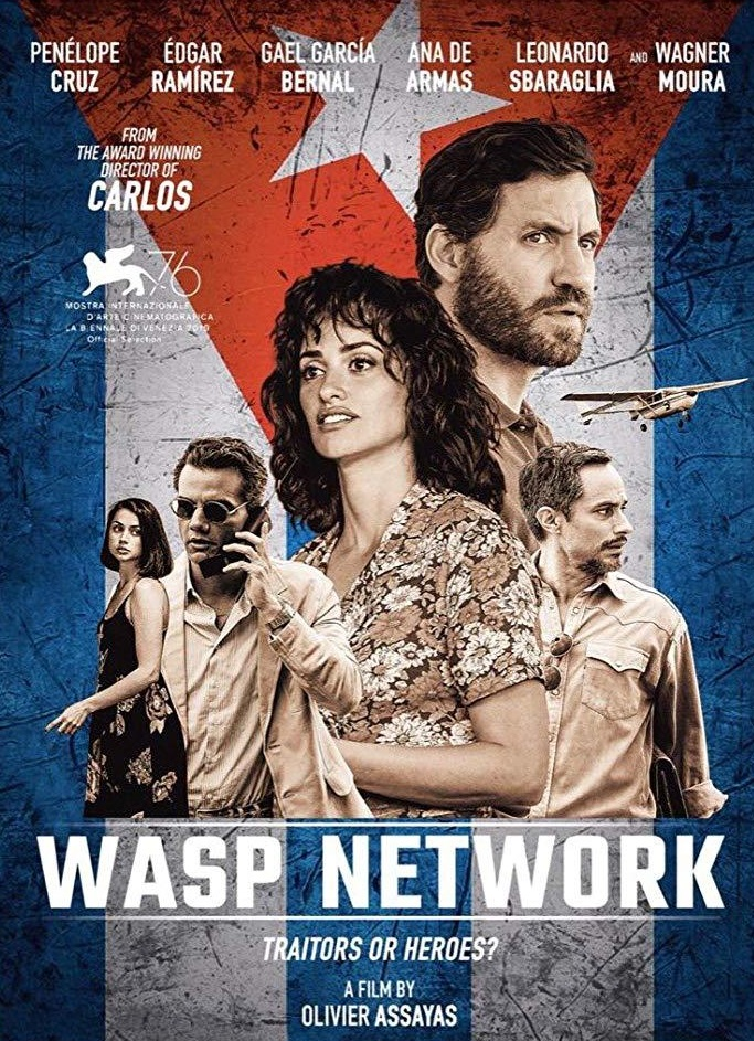 Wasp Network [2019] [CUSTOM HD] [DVDR] [NTSC] [Latino]