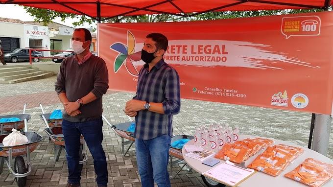 Programa Frete Legal é lançado em Saloá.
