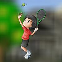 AvmGames - Tennis Boy Escape