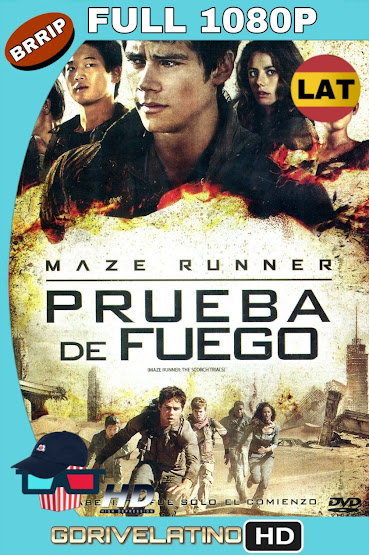Maze Runner: Prueba de Fuego (2015) BRRip 1080p Latino-Ingles MKV