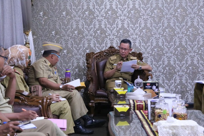 Sekdaprov Fahrizal Minta BPBD Susun Program Antisipasi Bencana dan Petakan Daerah Rawan di Provinsi Lampung