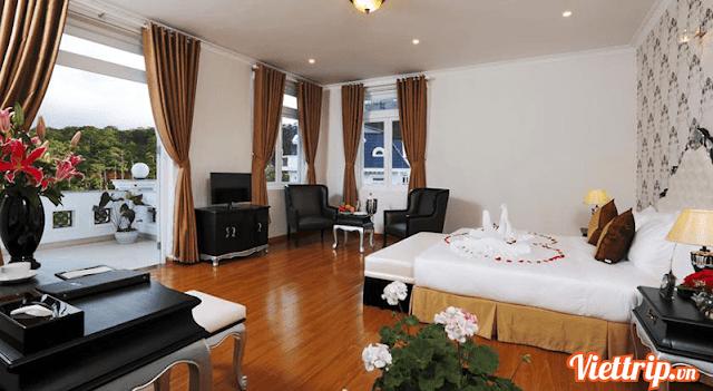 Phòng ngủ - Sam Tuyen Lam resort Đà Lạt