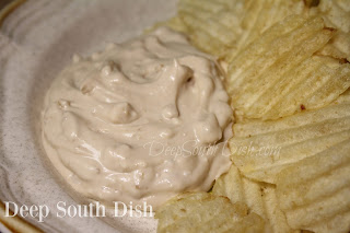A classic homemade version of French onion dip, with a twist on the original!