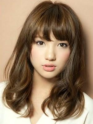 Model rambut panjang wanita Korea