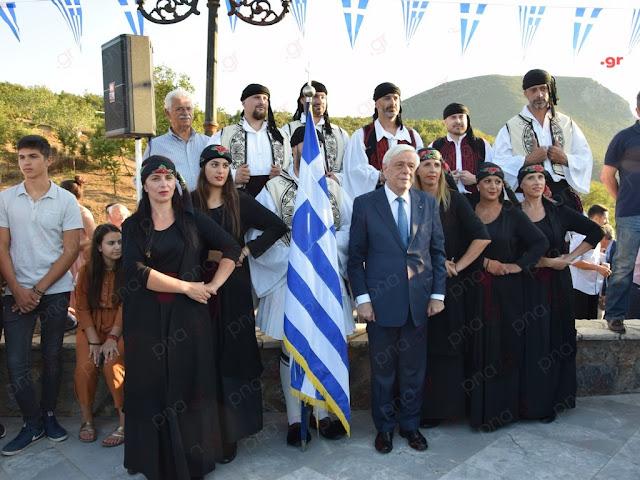 Στις εκδηλώσεις για τον Νικηταρά στη Μεγαλόπολη ο Πρόεδρος της Δημοκρατίας (βίντεο)