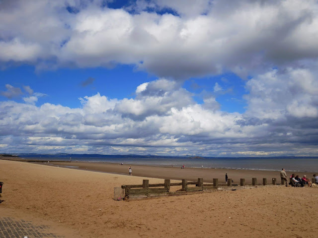 Summer in Edinburgh Things to Do: go to Portobello Beach