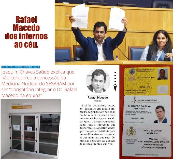 Rafael Macedo: ilibado de todas as acusações