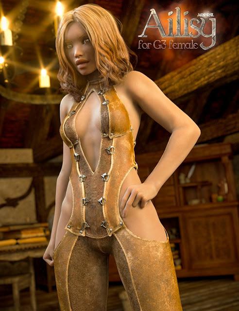 Ailisy for Genesis 3 Female
