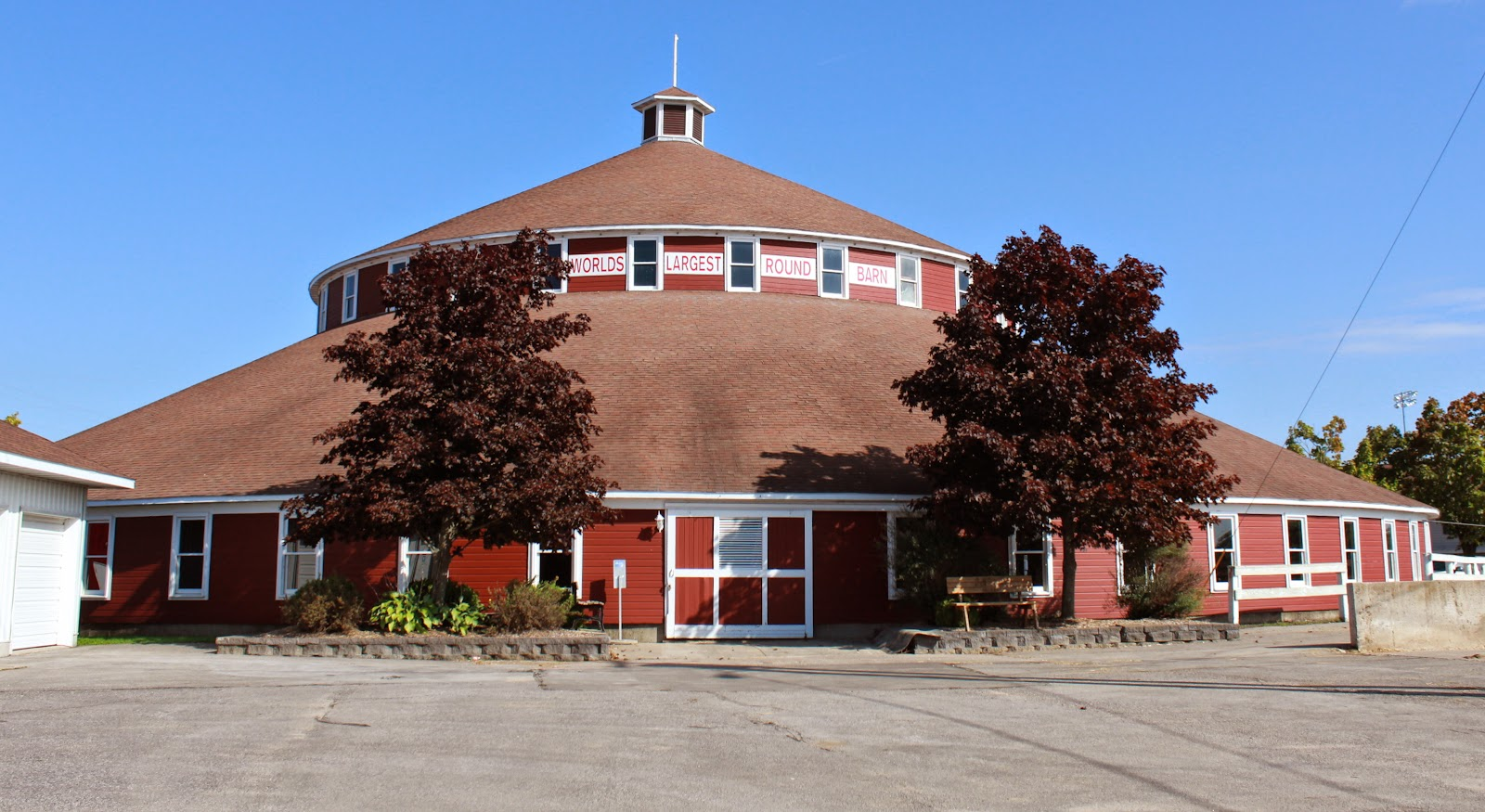 Wisconsin Historical Markers Worlds Sic Largest Round Barn
