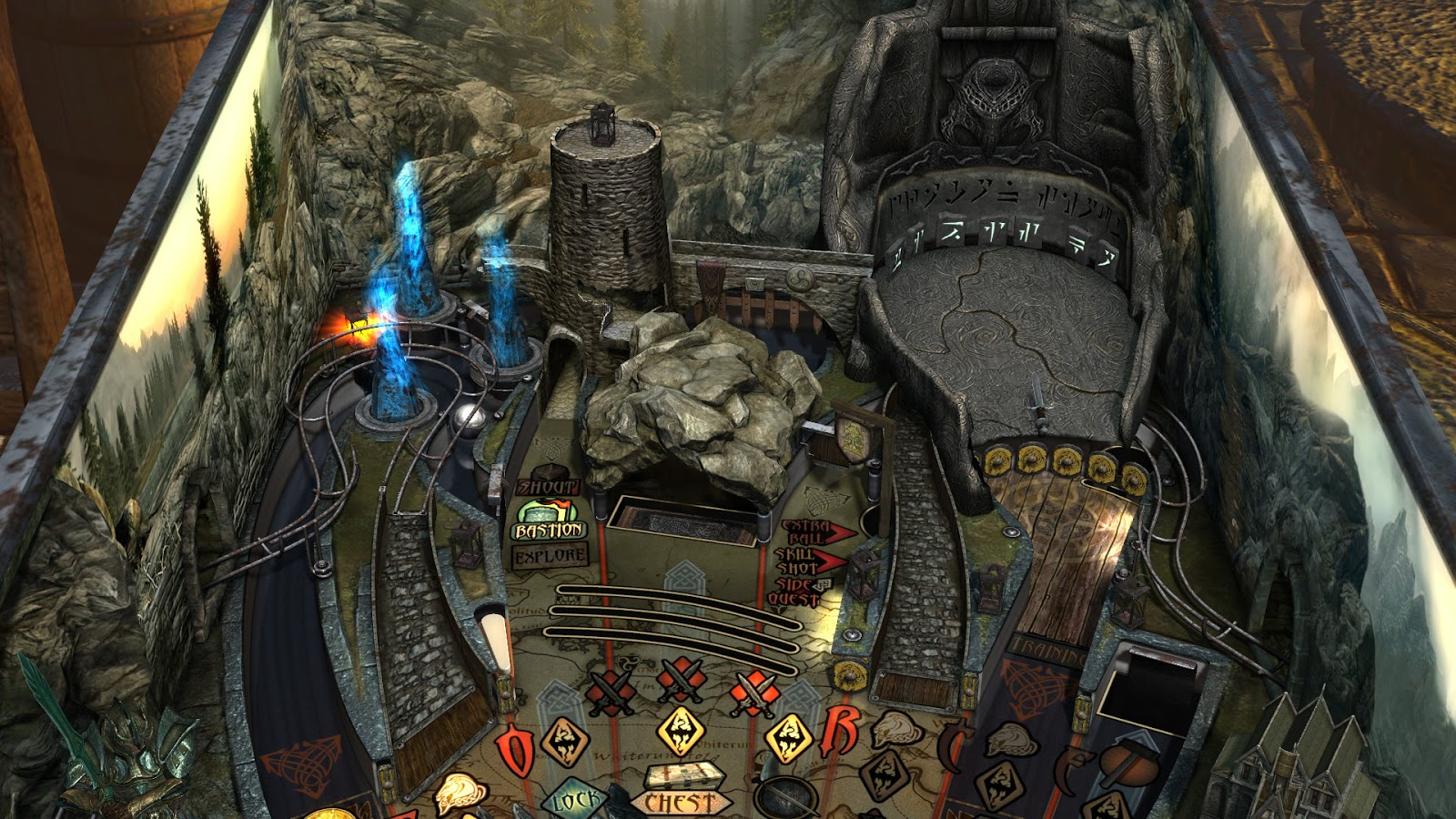 Zen Pinball 2: Bethesda Pinball - PS4 Review | Chalgyr's Game Room