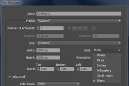 Cara Mengubah Unit ke CM di Adobe Illustrator