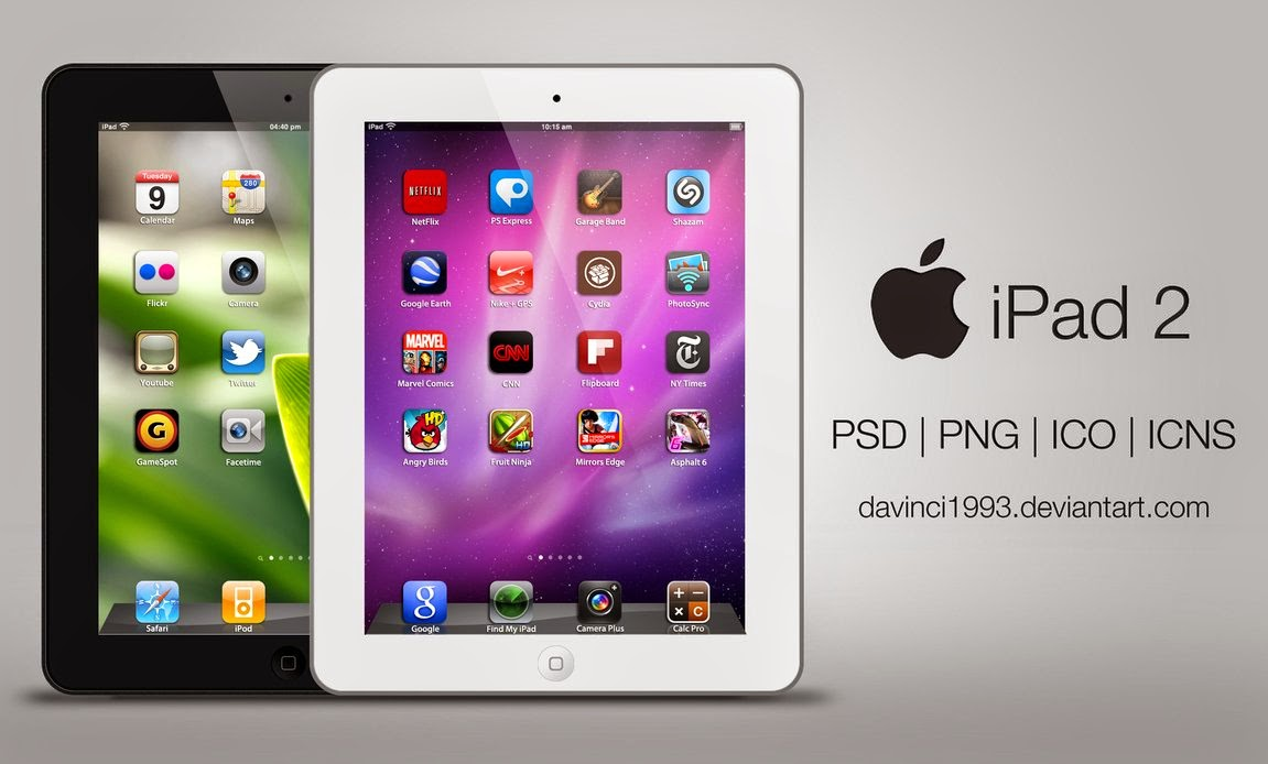 Apple iPad 2 Mockup PSD