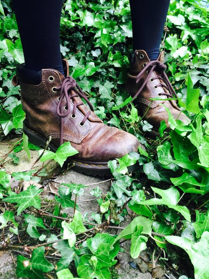 Ben boots, brown, lace up