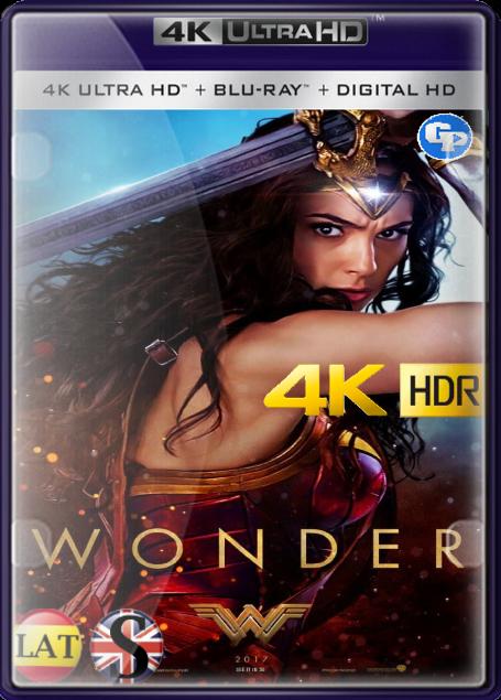 La Mujer Maravilla (2017) 4K HDR LATINO/INGLES