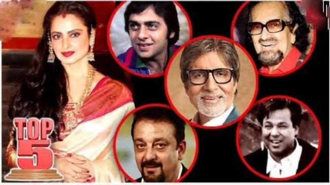 photo-gallery-actress-rekha-affairs-with-these-stars