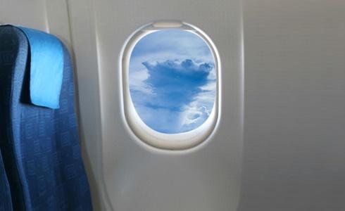 نافدة الطائرة