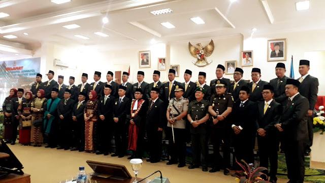 Hari Ini, 25 Anggota Dprd Kota Pagaralam Resmi Di Lantik