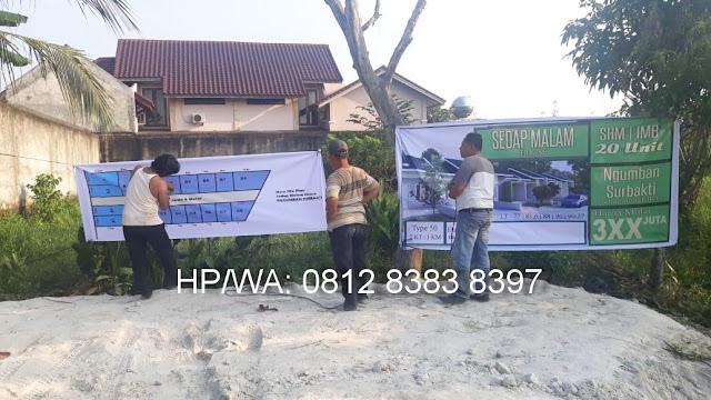 Kondisi Di Proyek Rumah Murah Perumahan Sedap Malam House Ngumban Surbakti Padang Bulan Medan