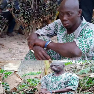 Graphic: Suspected ritualist arrested with human parts in Osun