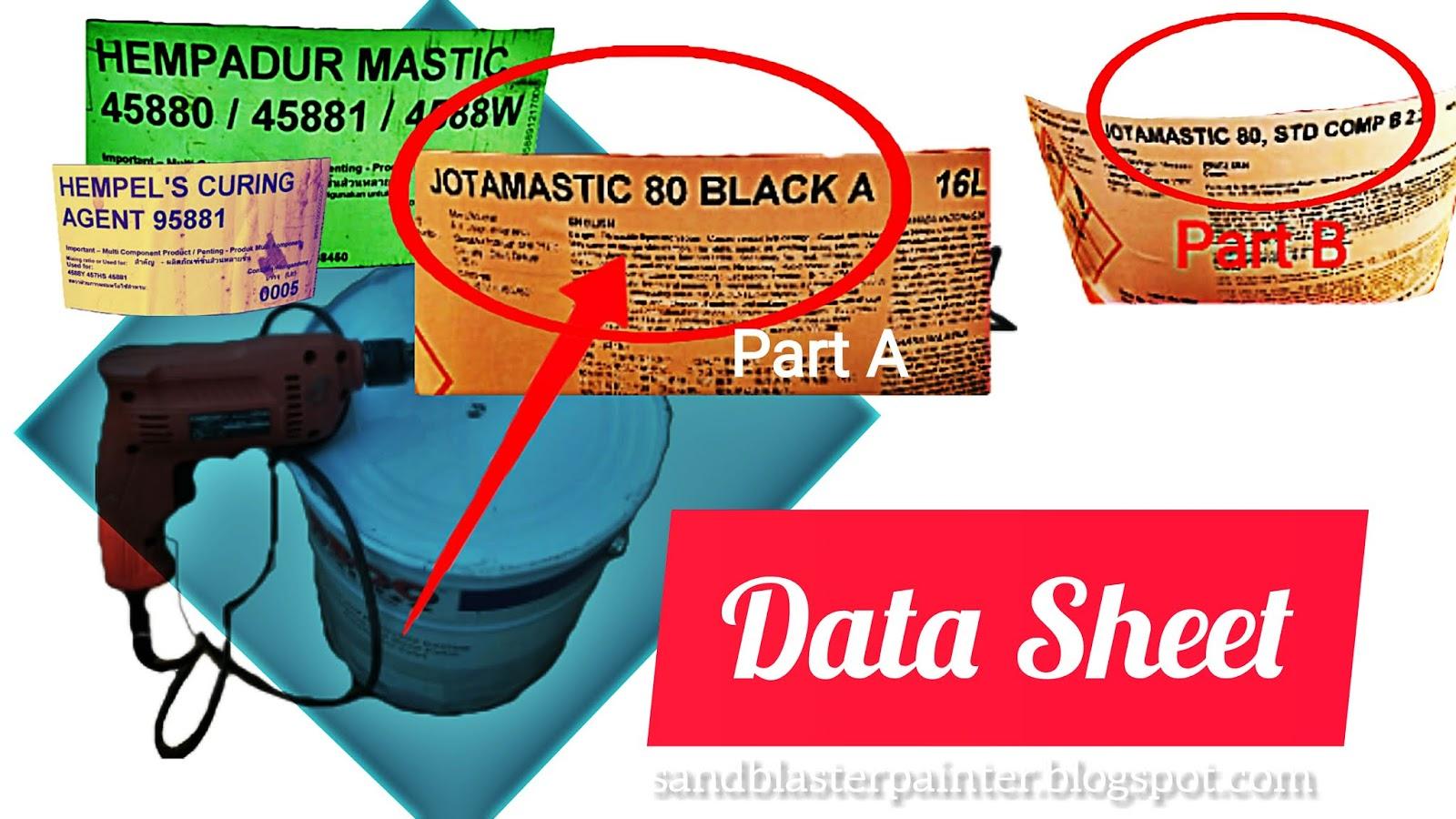 Data Sheet Pada Cat Sandblaster Painter