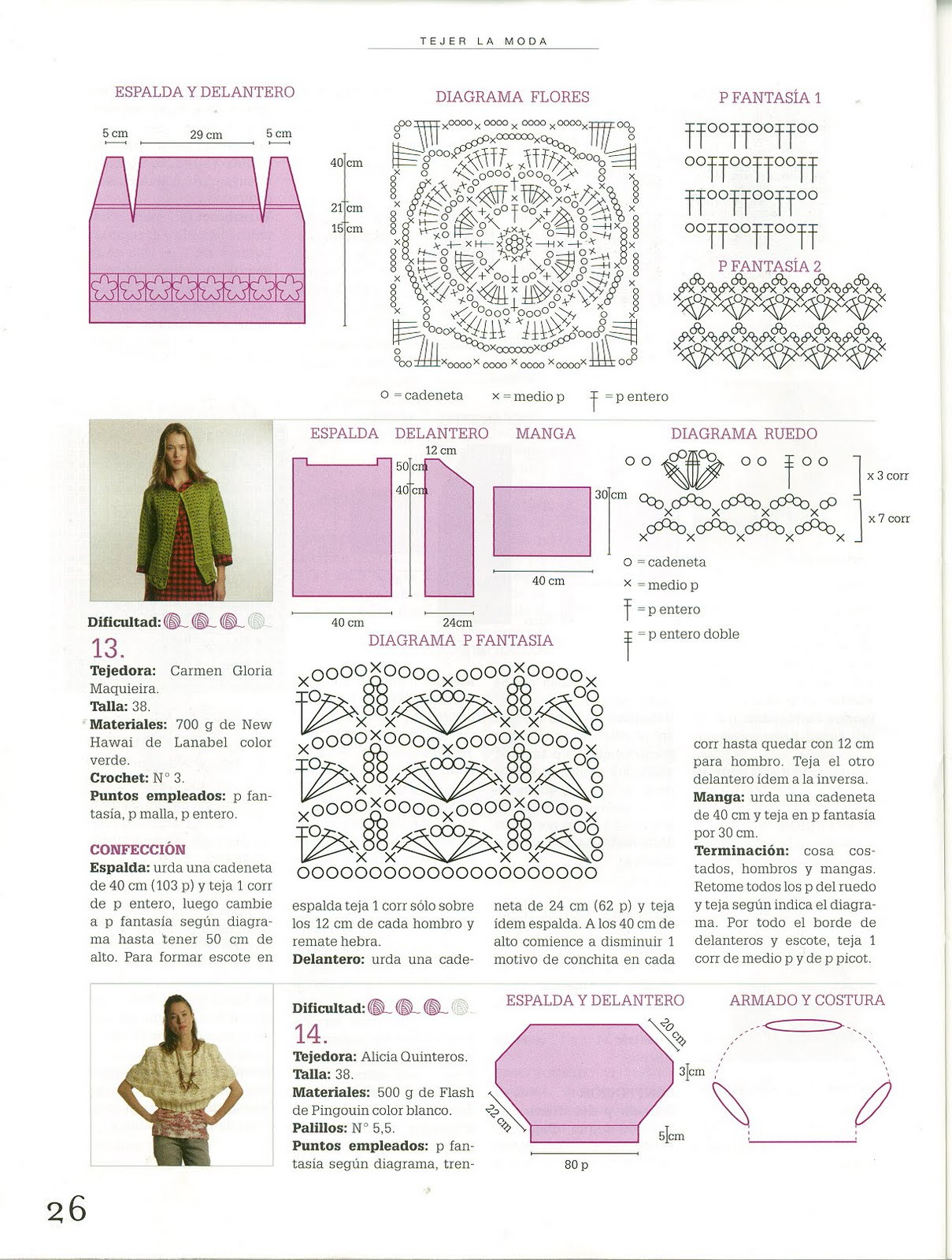 Chaleco Verde Esperanza de Crochet