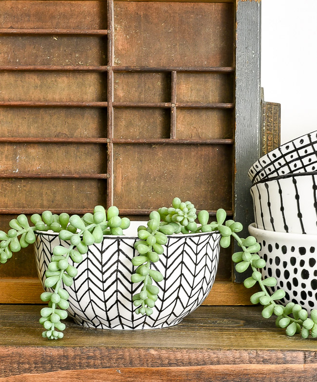 DIY no bake Sharpie art bowls