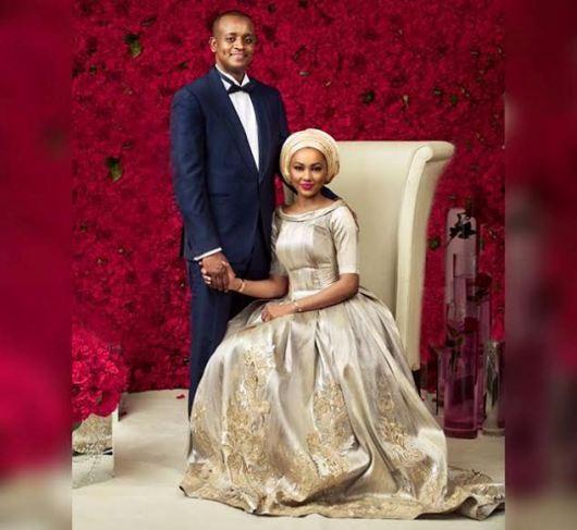 Zahra Buhari & Ahmed Indimi's official pre-wedding photo