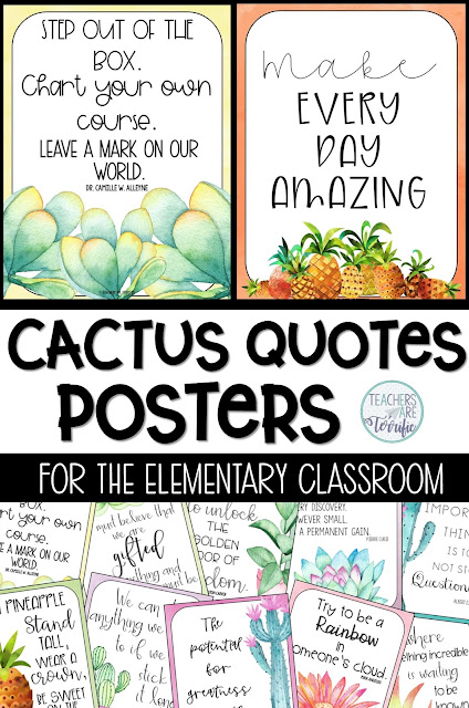 Fabulous resources and ideas to get you started back to school! This blog post will give you details about an amazing motivational poster set! #teachersareterrific #posters