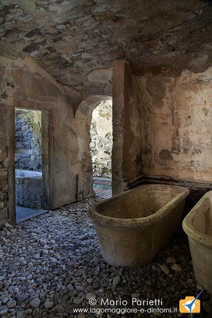 Bagni di Craveggia, le antiche vasche termali