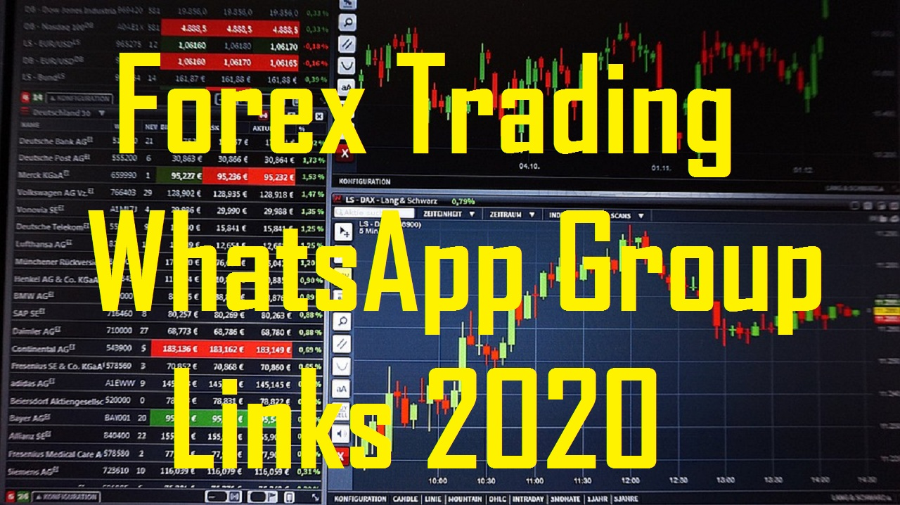 Join + Forex Signals WhatsApp Group Links list