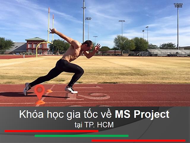 Khóa học gia tốc về MS Project tại TP. HCM