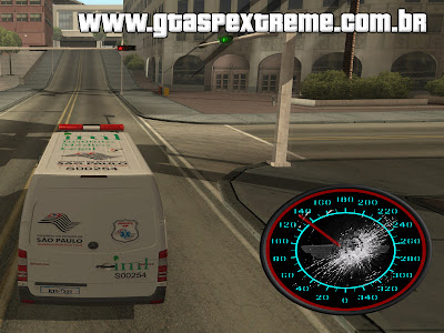 Velocímetro Analógico para GTA San Andreas