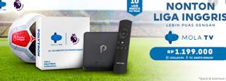 Pecinta Bola! Agar Tak Ketinggalan Live Pertandingan Bola Yuk Langganan Mola TV