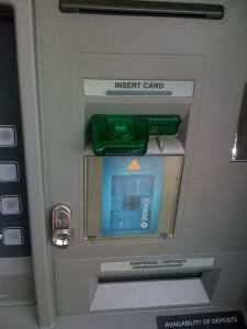 Pencurian Uang Di ATM