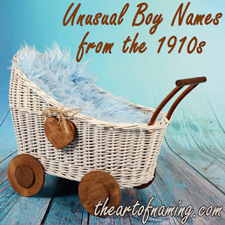 Old fashioned grandpa name - strange names from a century ago - blue bassinet
