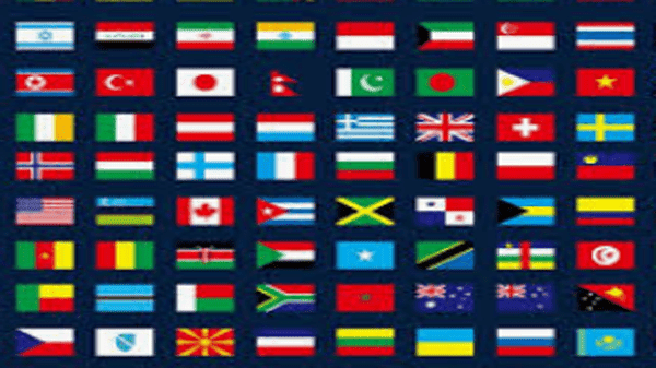 مفتاح الأتصال لجميع دول العالم