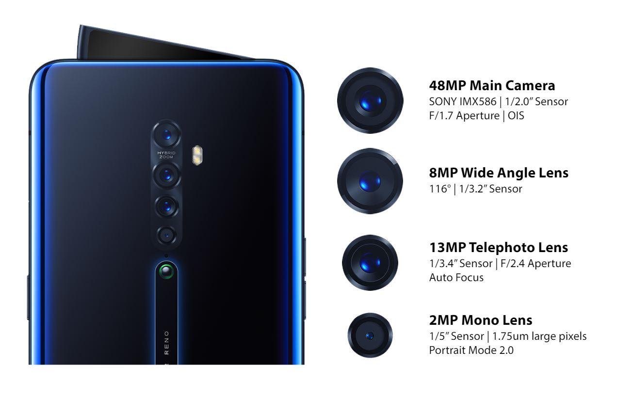 سعر ومواصفات اوبو رينو تو Oppo Reno 2 مميزات وعيوب