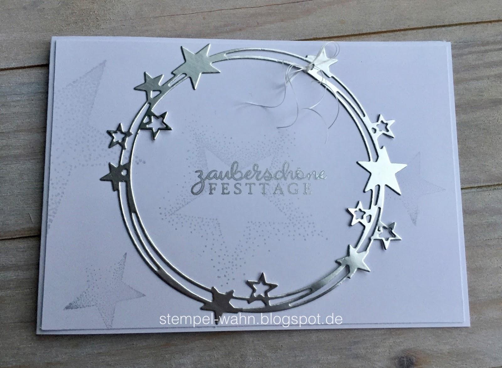 Erstaunlich Edle Weihnachtskarten Basteln Beste Wahl Stempel-wahn
