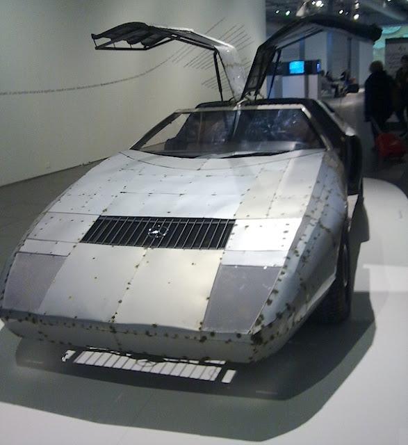 Novecento mai visto - Brescia - Daimler Art Collection - Michael Sailstorfer, C111, 2011