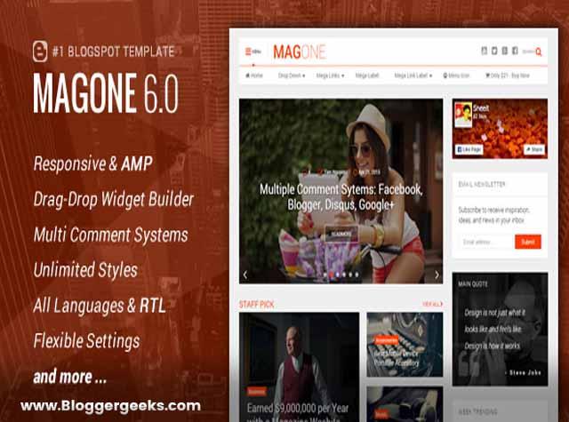 MagOne  v6.1.2 تحميل قالب