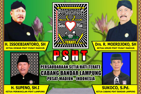 Sukoco, S.Pd (Ketua Cabang PSHT Bandar Lampung) NIC. 090