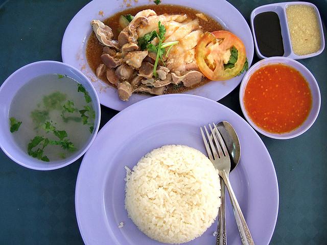 أرز الدجاج