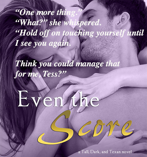 Blog Tour Review Giveaway Even The Score A Tall Dark And Texan